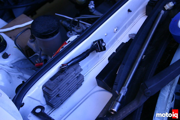 miatabusa hayabusa rectifier installed in miata