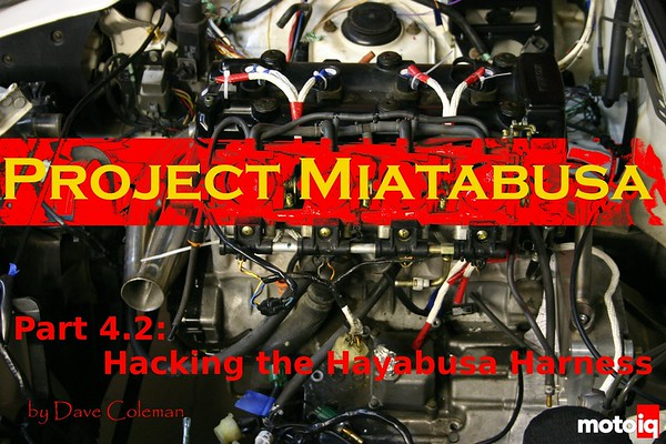 Project Miatabusa hayabusa engine in a miata wiring