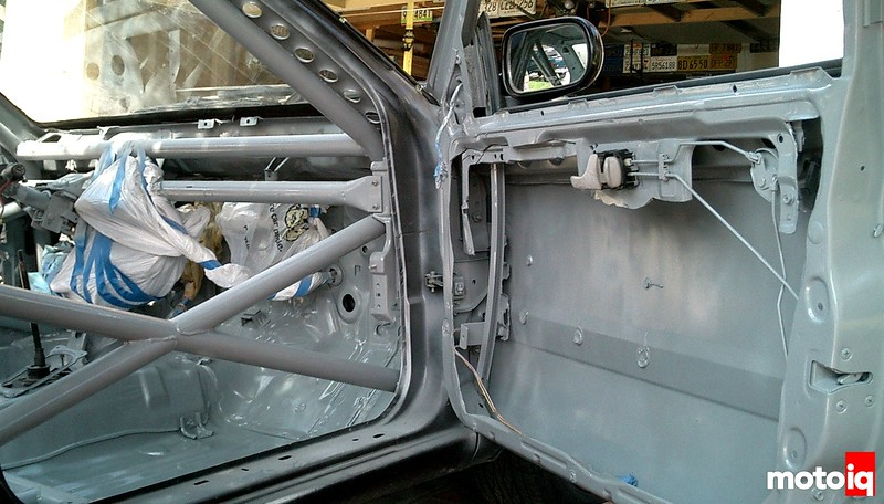 Project Infiniti G20 Racecar Roll Cage Additions Final