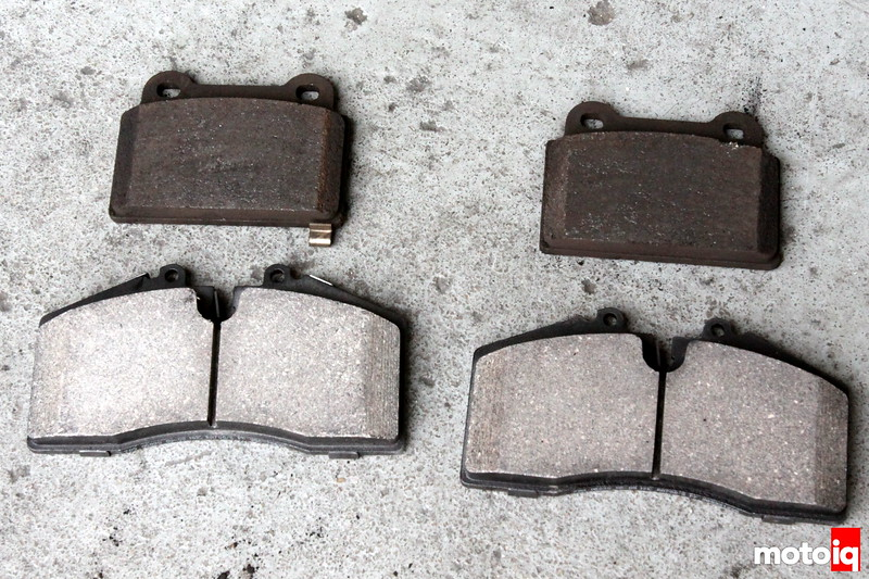 Stoptech vs brembo rear brake pads