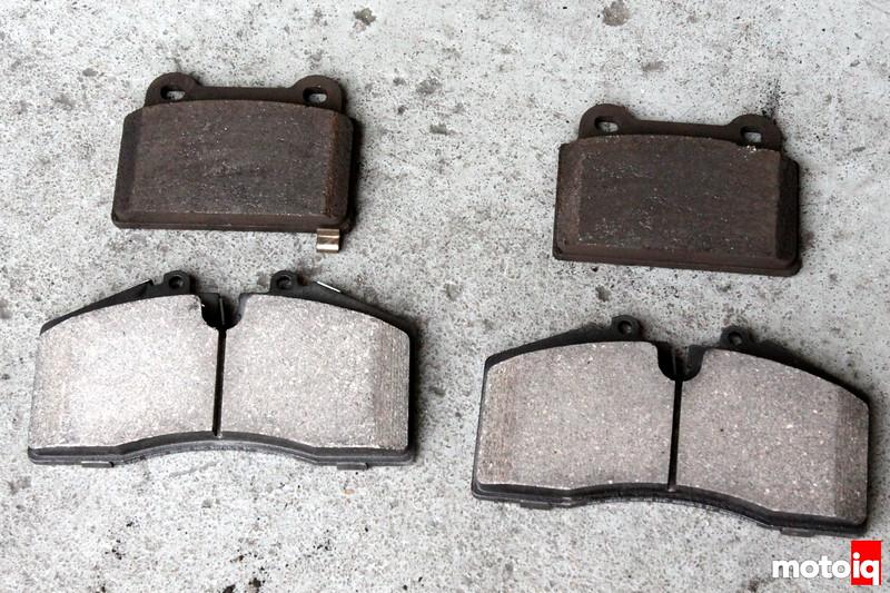 Stoptech vs brembo rear brake pads