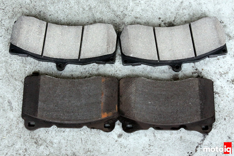 Stoptech vs brembo front brake pads
