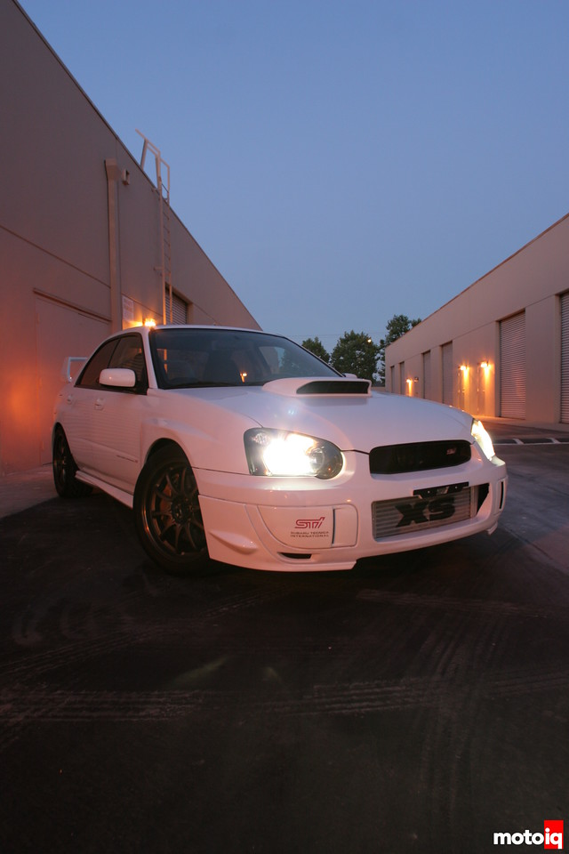 Project subaru WRX STI 