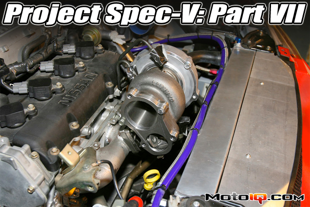Project Nissan Sentra Spec-V Part 7: Installing a Turbo System
