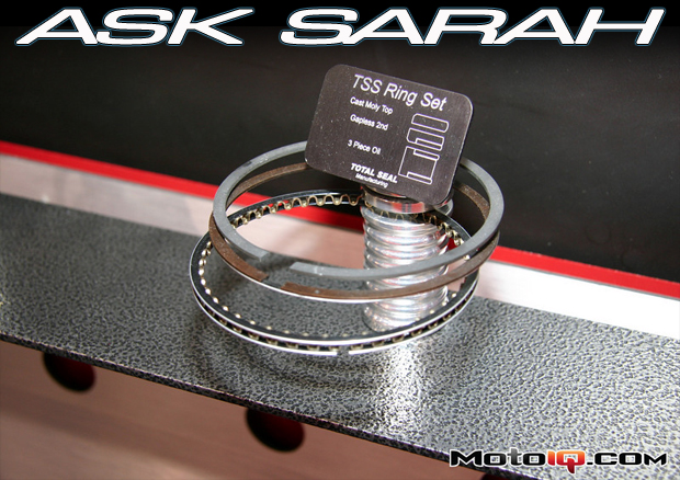 Total Seal gapless piston ring