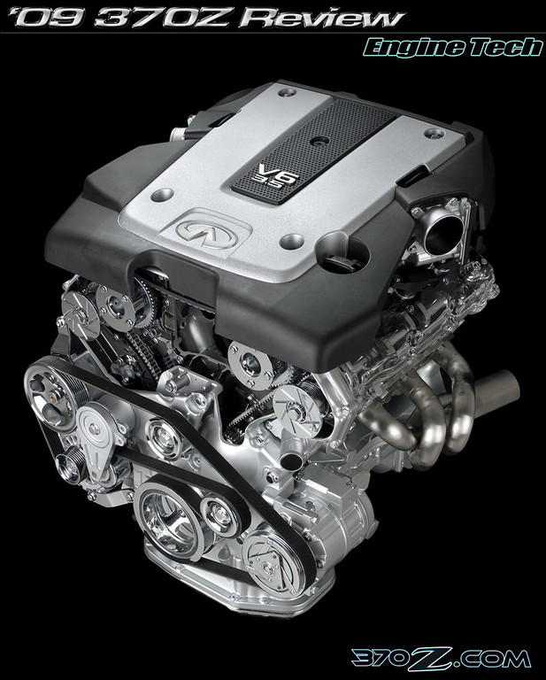 Nissan 370Z Engine VQ37VHR