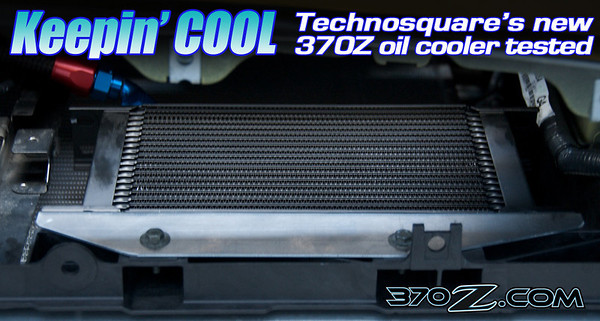 Technosquare Nissan 370Z oil cooler
