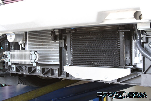 Technosquare 370Z oil cooler