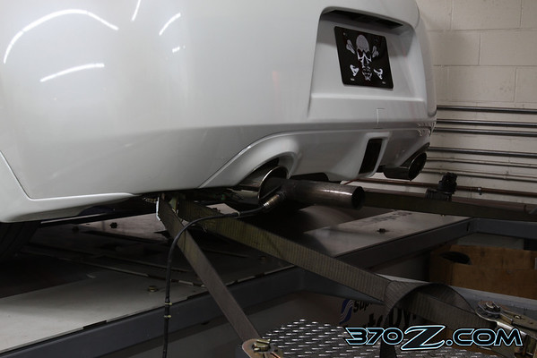 370Z technosquare dyno wide band o2 sensor