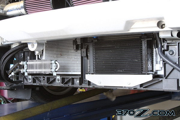 Technosqaure 370Z oil cooler
