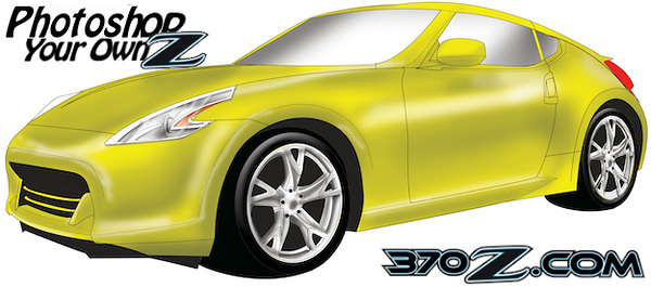 370Z digital rendering