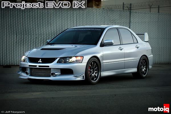 MotoIQ Project Mitsubishi EVO IX