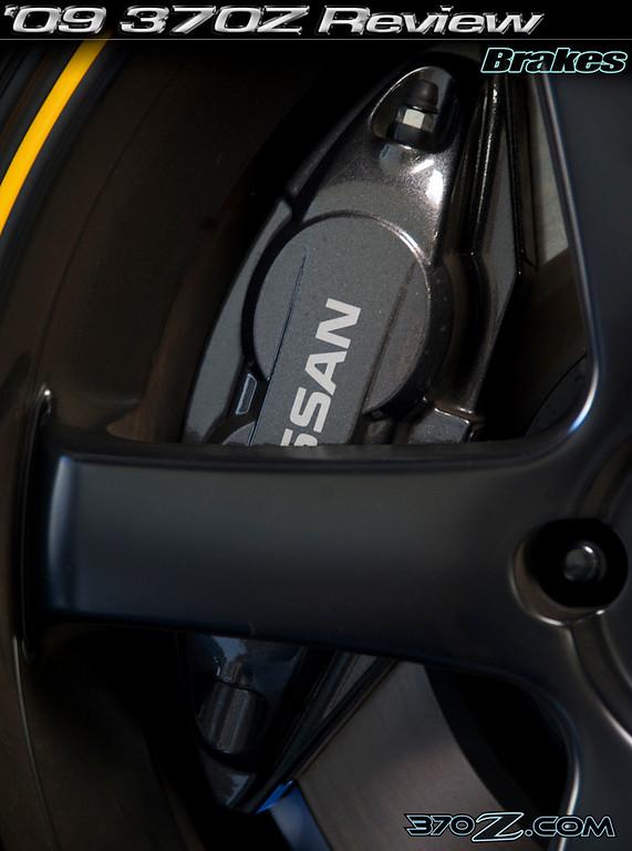 Nissan 370Z brakes