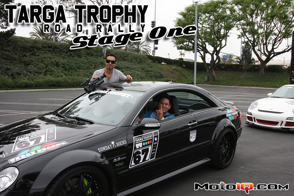 Targa Trophy Road Rally Stage 1