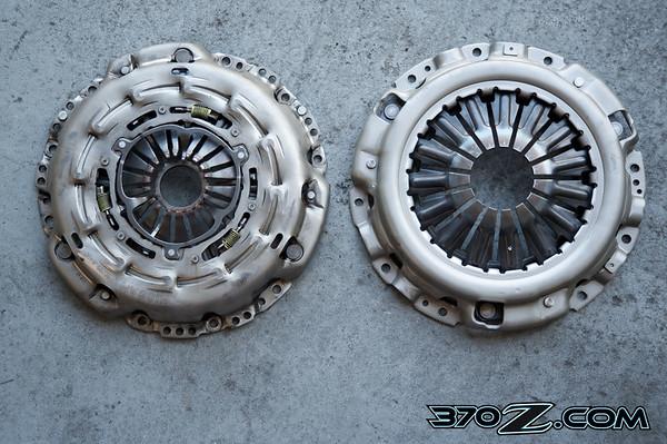370Z Stock Pressure Plate vs JWT pressure plate