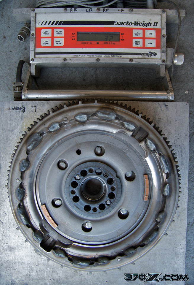 Stock Nissan Dual Mass flywheeL