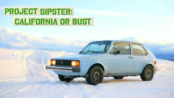 Project Sipster Top Gear Rabbit Diesel 70 mpg