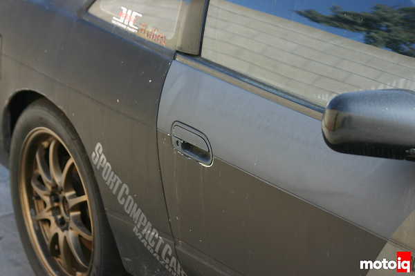 project silvia faded door paint