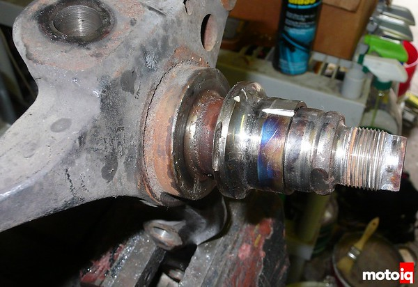 Project silvia wheel bearing s14 stub axle