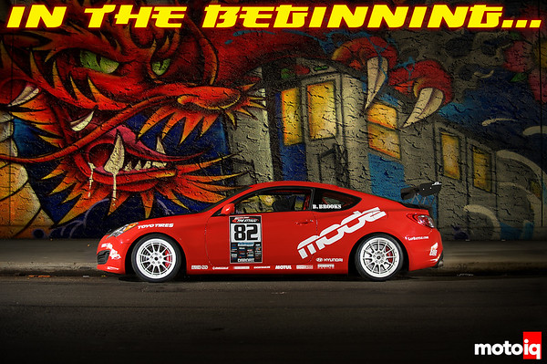Mode Racing Time Attack Hyundai Genesis