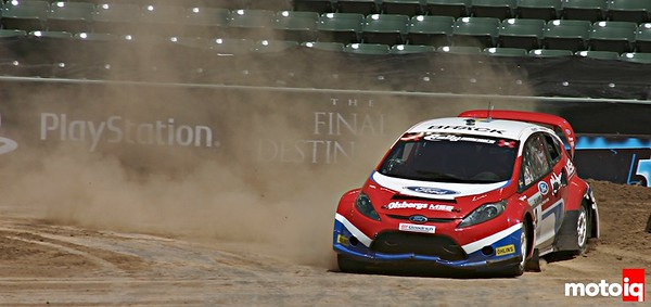 X-Games Kenny Brack Ford Fiesta Rally car