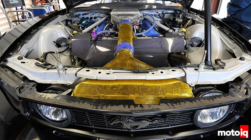 Sneak Peak: A Look Inside Brandon Davis' ACS Express Ford Mustang Cobra