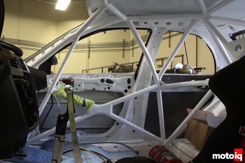 Stephan Verdier's Rallycross Subaru STI
