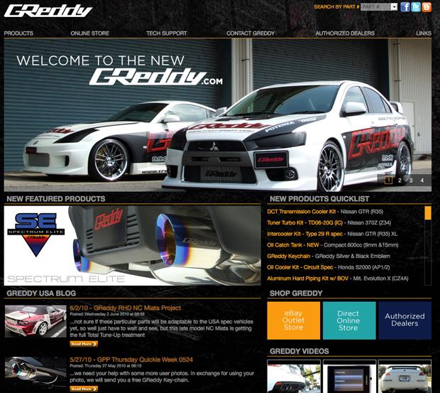 GReddy site release