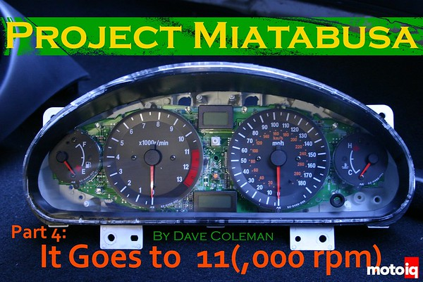 Project Miatabusa by dave coleman hayabusa miata gauges