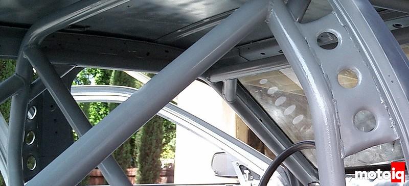 Project Infiniti G20 racecar race car P10 Primera SR20 rollcage roll cage interior