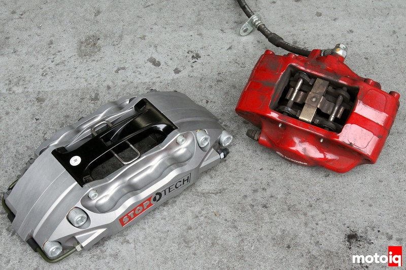 brembo vs stoptech calipers
