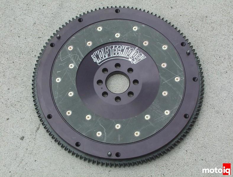 JWT Aluminum flywheel