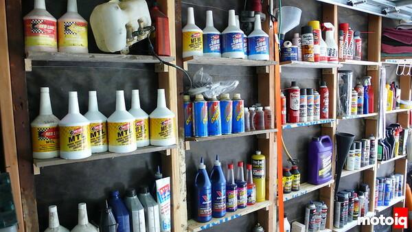 wrench tips stud shelves