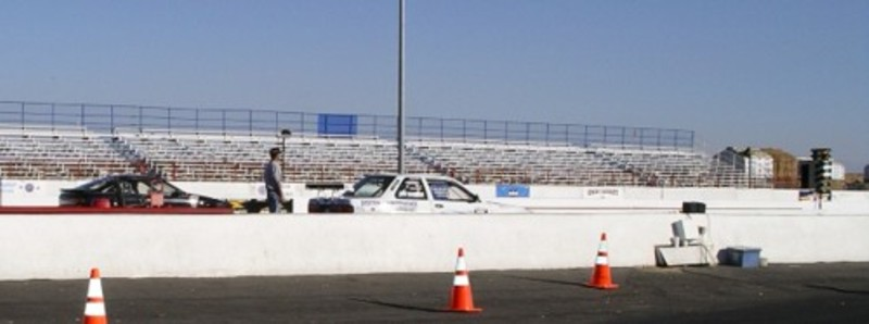 Project Racer Staging for Her First Drag Race