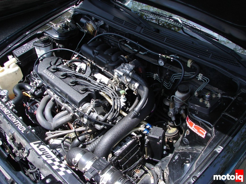 ga16de turbo project 200sx evil twin notnser