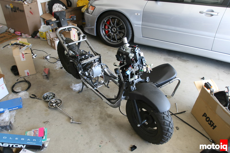 Honda Ruckus deconstruction