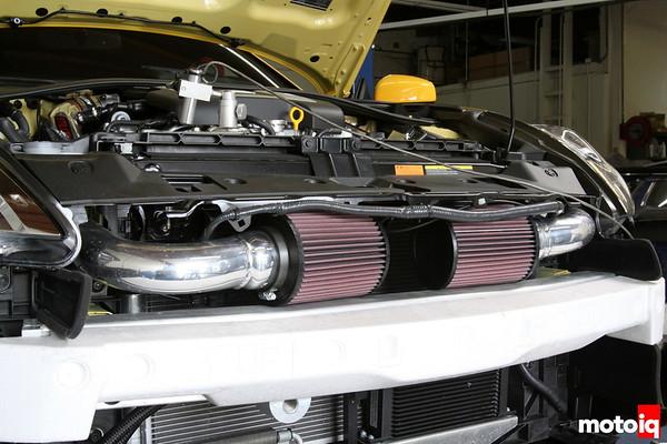 Stillen Gen 3 Nissan 370z air intake filter location