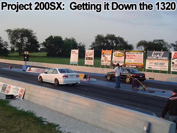 ga16de turbo project 200sx evil twin notnser drag 12 second pass