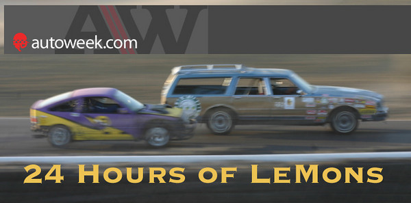 24 Hours of Lemons AutoWeek CRX eyesore racing