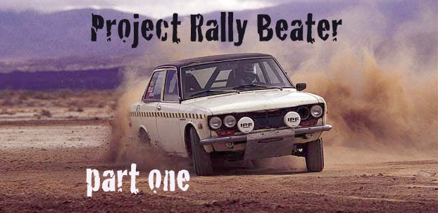 Datsun 510 Project Rally Beater CRS California Rally Series SCCA SCC Sport Compact Car Dave Coleman