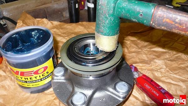 Project silvia wheel bearing s14 stub axle