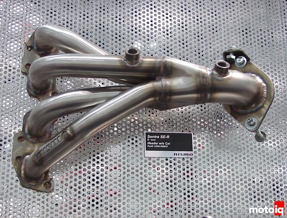 Nismo QR25DE B15 Sentra SE-R header