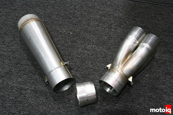 Burns B-TEC collector removeable venturi