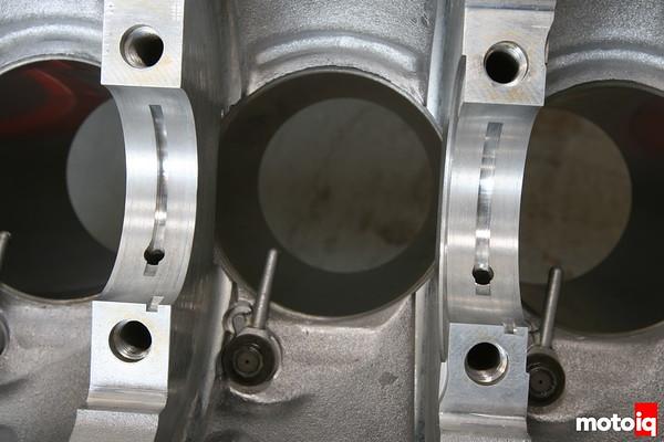 Nissan SR20DE rod bearing oiling groove block modification