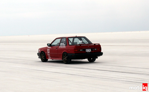 Chuck Johnson B12 at Bonneville