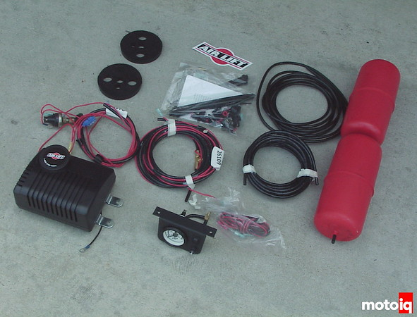 air lift kit for Nissan Project Pathfinder
