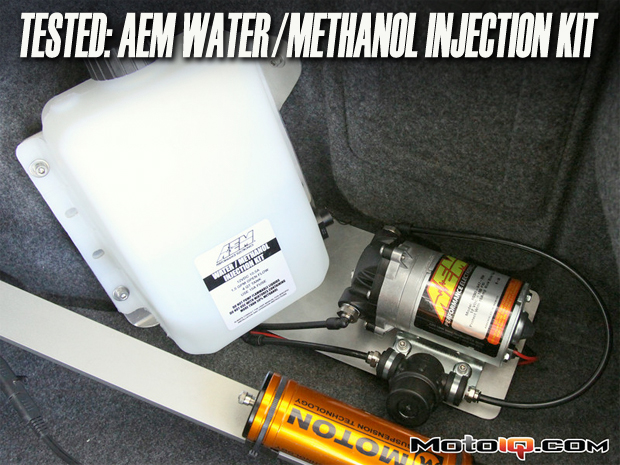 AEM water methanol injection system