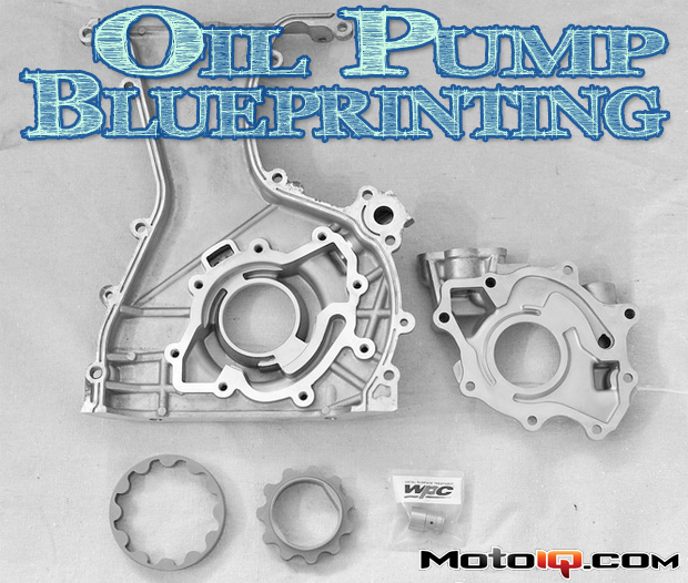 blueprinted WPC treated oil pump
