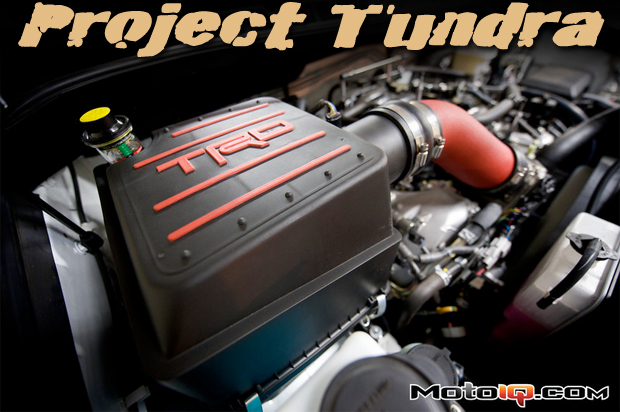 Project Toyota Tundra TRD Intake